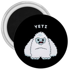 Yeti 3  Magnets by Valentinaart