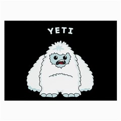 Yeti Large Glasses Cloth by Valentinaart