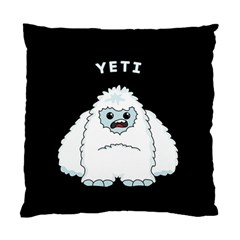 Yeti Standard Cushion Case (two Sides) by Valentinaart