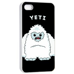 Yeti Apple Iphone 4/4s Seamless Case (white) by Valentinaart