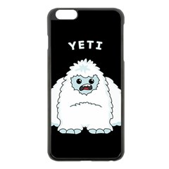 Yeti Apple Iphone 6 Plus/6s Plus Black Enamel Case by Valentinaart