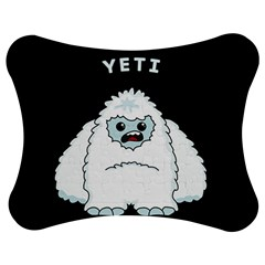 Yeti Jigsaw Puzzle Photo Stand (bow) by Valentinaart
