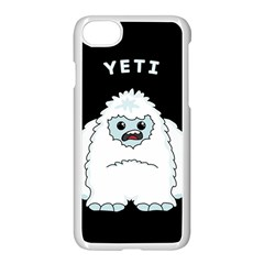 Yeti Apple Iphone 7 Seamless Case (white) by Valentinaart