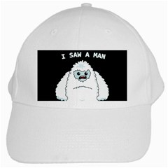 Yeti   I Saw A Man White Cap by Valentinaart