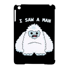 Yeti   I Saw A Man Apple Ipad Mini Hardshell Case (compatible With Smart Cover) by Valentinaart