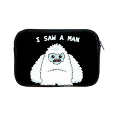 Yeti   I Saw A Man Apple Ipad Mini Zipper Cases by Valentinaart