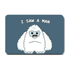 Yeti   I Saw A Man Small Doormat