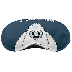 Yeti   I Saw A Man Sleeping Masks by Valentinaart