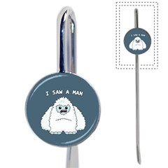 Yeti   I Saw A Man Book Mark