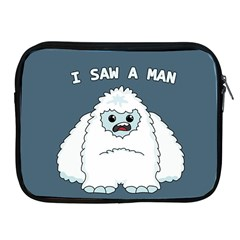 Yeti - I Saw A Man Apple Ipad 2/3/4 Zipper Cases by Valentinaart