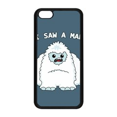 Yeti   I Saw A Man Apple Iphone 5c Seamless Case (black)