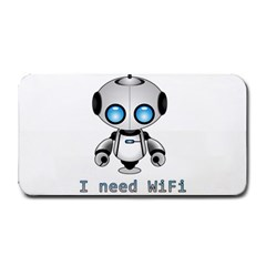 Cute Robot Medium Bar Mats by Valentinaart