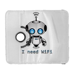 Cute Robot Galaxy S3 (flip/folio) by Valentinaart