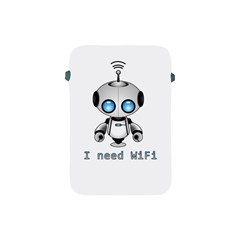 Cute Robot Apple Ipad Mini Protective Soft Cases by Valentinaart