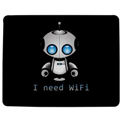 Cute Robot Jigsaw Puzzle Photo Stand (rectangular) by Valentinaart