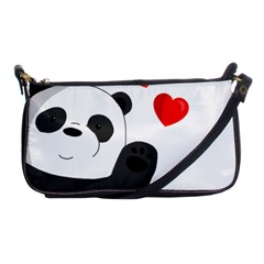 Cute Panda Shoulder Clutch Bags