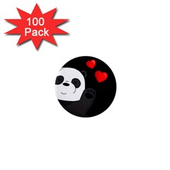 Cute Panda 1  Mini Magnets (100 Pack)
