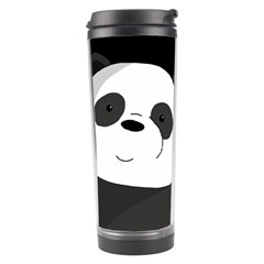 Cute Panda Travel Tumbler by Valentinaart