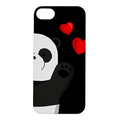 Cute Panda Apple Iphone 5s/ Se Hardshell Case by Valentinaart