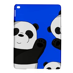 Cute Pandas Ipad Air 2 Hardshell Cases by Valentinaart