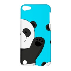 Cute Pandas Apple Ipod Touch 5 Hardshell Case by Valentinaart