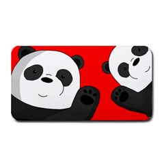 Cute Pandas Medium Bar Mats by Valentinaart