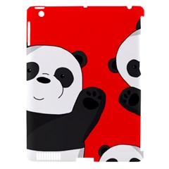 Cute Pandas Apple Ipad 3/4 Hardshell Case (compatible With Smart Cover)