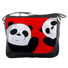 Cute Pandas Messenger Bags