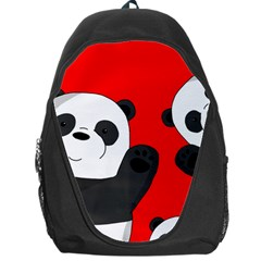 Cute Pandas Backpack Bag