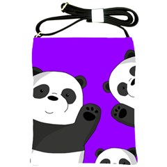 Cute Pandas Shoulder Sling Bags