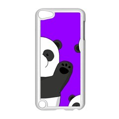 Cute Pandas Apple Ipod Touch 5 Case (white) by Valentinaart