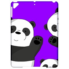 Cute Pandas Apple Ipad Pro 9 7   Hardshell Case by Valentinaart
