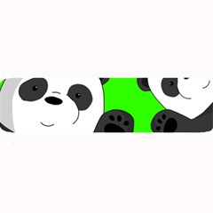 Cute Pandas Large Bar Mats by Valentinaart