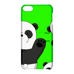 Cute Pandas Apple Ipod Touch 5 Hardshell Case With Stand by Valentinaart
