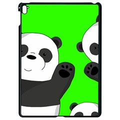 Cute Pandas Apple Ipad Pro 9 7   Black Seamless Case by Valentinaart