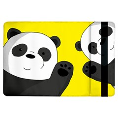 Cute Pandas Ipad Air Flip by Valentinaart