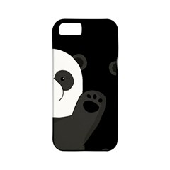 Cute Pandas Apple Iphone 5 Classic Hardshell Case (pc+silicone)