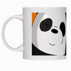Cute Pandas White Mugs by Valentinaart