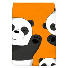 Cute Pandas Flap Covers (s)  by Valentinaart