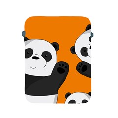 Cute Pandas Apple Ipad 2/3/4 Protective Soft Cases by Valentinaart