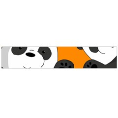 Cute Pandas Flano Scarf (large) by Valentinaart