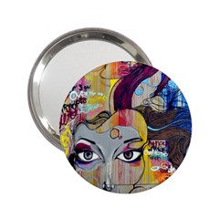 Graffiti Mural Street Art Painting 2 25  Handbag Mirrors by BangZart