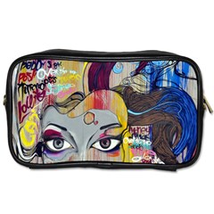 Graffiti Mural Street Art Painting Toiletries Bags 2 Side by BangZart