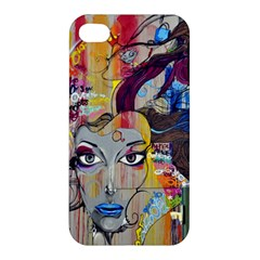 Graffiti Mural Street Art Painting Apple Iphone 4/4s Premium Hardshell Case by BangZart
