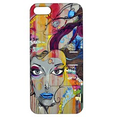 Graffiti Mural Street Art Painting Apple Iphone 5 Hardshell Case With Stand