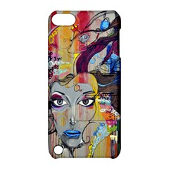 Graffiti Mural Street Art Painting Apple Ipod Touch 5 Hardshell Case With Stand by BangZart