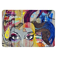 Graffiti Mural Street Art Painting Samsung Galaxy Tab 8 9  P7300 Flip Case by BangZart