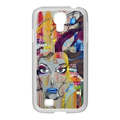 Graffiti Mural Street Art Painting Samsung Galaxy S4 I9500/ I9505 Case (white) by BangZart