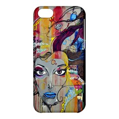 Graffiti Mural Street Art Painting Apple Iphone 5c Hardshell Case by BangZart