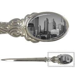 Minneapolis Minnesota Skyline Letter Openers by BangZart